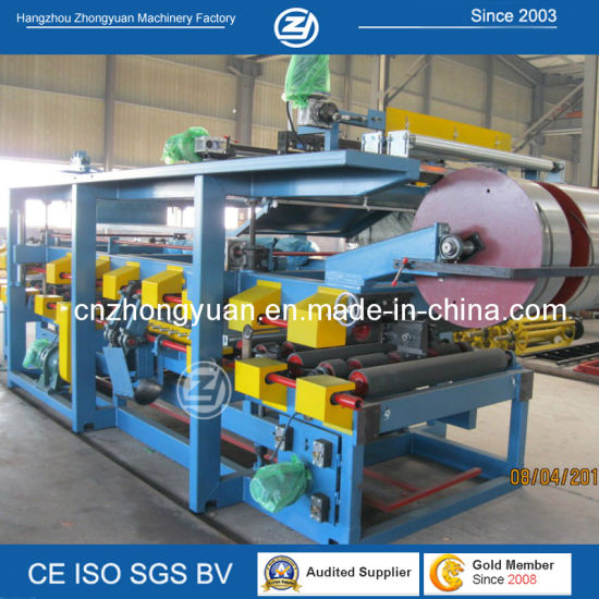 Aluminum Composite Panel Production Line/Cold Room Sandwich EPS Panel Production Line Roll Forming Machine Factory Price with ISO9001/Ce/SGS/Soncap pictures & photos