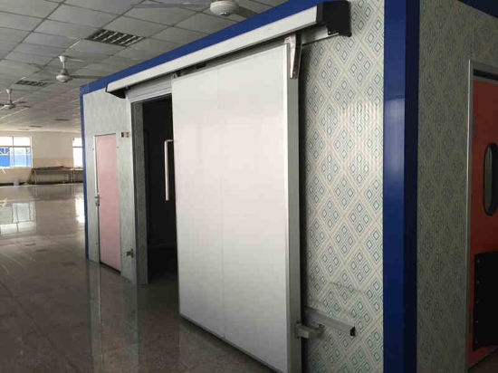 Warehouse Food Cold Storage Room Sliding Door pictures & photos