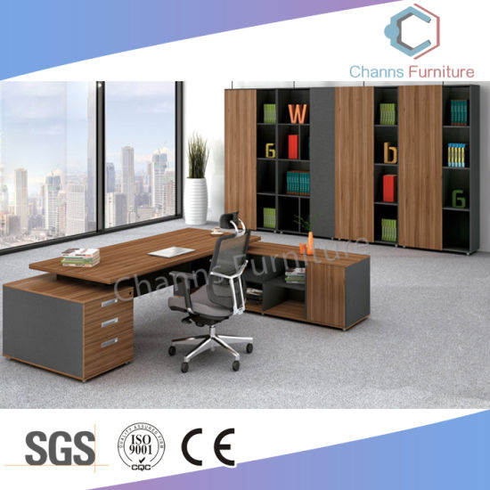 Office Furniture Luxury Office Table With Extension Desk (CAS MD18A58)