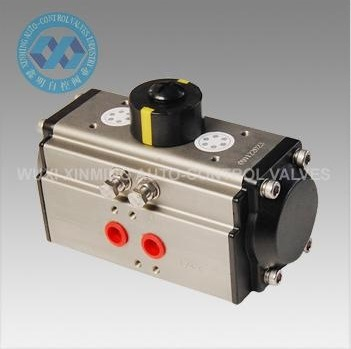 Spring Return (SR) Pneumatic Rotary Actuators/Valve Actuator with Positioner pictures & photos