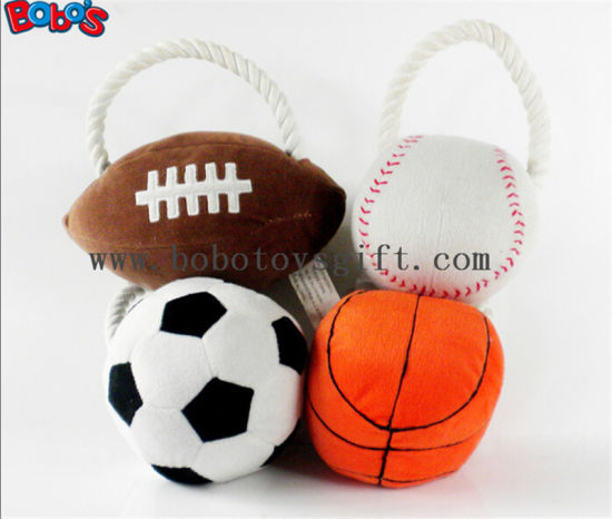 "5.9""Soft Colorful Plush Baby Ball Toy Baby Educational Rattle Toybosw1055 pictures & photos"