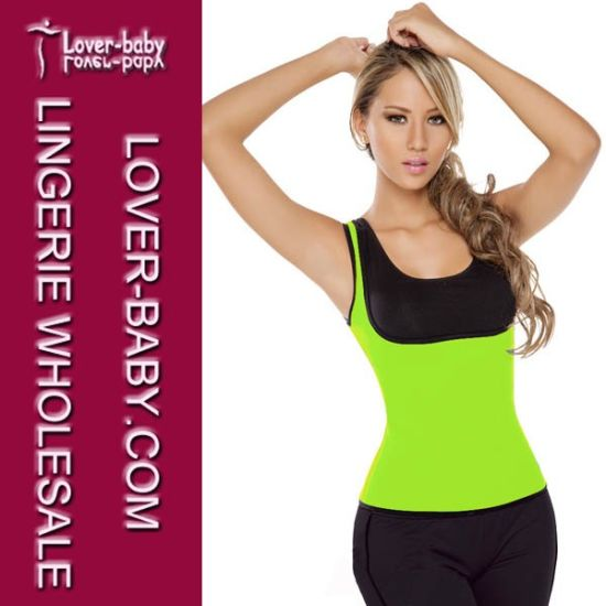 Neoprene Sweat Thermal T-Shirt Fitness Waist Trainer (L42657-3) pictures & photos