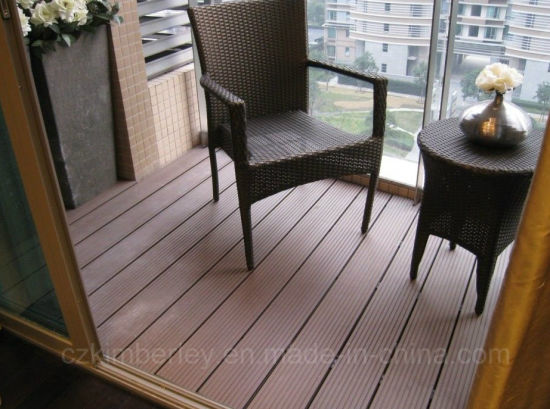 China High Quality Wpc Decking Floor Solid Outdoor Board Wholesale