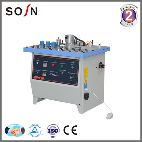 Sosn Manual Straight and Curved Edge Banding Machine