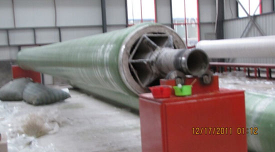 GRP Fiberglass FRP Sewer Waste Water Water Treatment Pipe