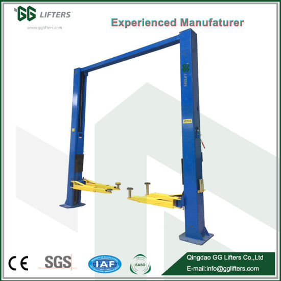 China Ce Approved 2 Post Portable Car Lift China Hydraulic Clear