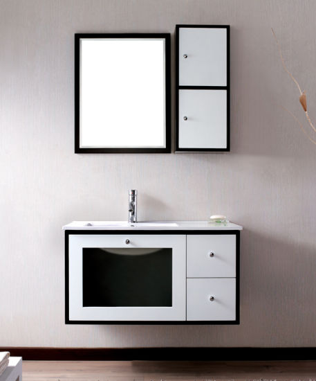 Prefabricated PVC Bathroom Cabinet Chinese Bathroom Vanity - Prefab bathroom vanities