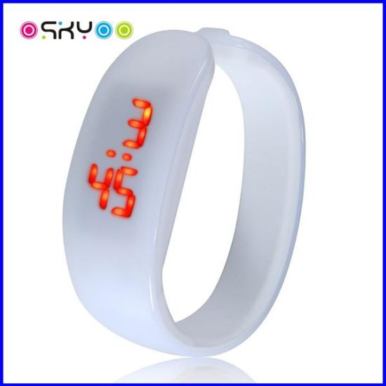 Promotion Gifrt Silicone LED Digital Sports Wrist Watches