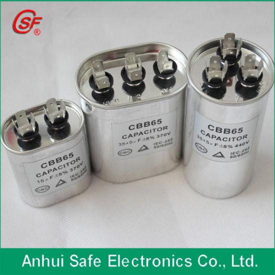 China 30  1 5uf 440v Run Capacitor Ova Aluminum Case Dual