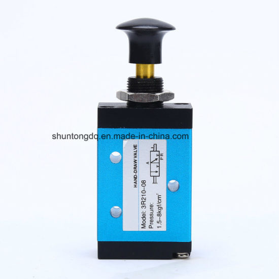 3r/4rseries Pneumatic Components Small Hand Control Operating Air Valve with Pull pictures & photos
