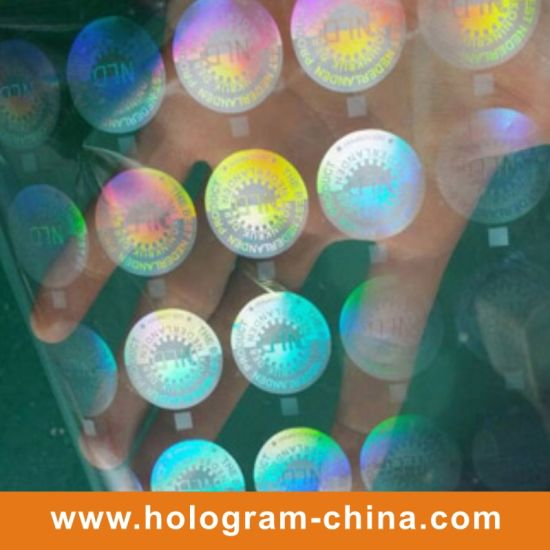 Transparent Security Hologram Foil Stamping pictures & photos