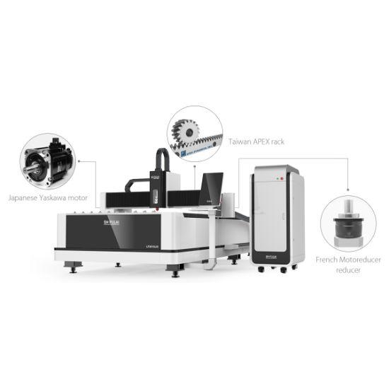 2000W Economic High Efficiency Fiber Laser Cutting Machine with Ipg/Raycus Generator for 3 Years Warranty Lf3015ln