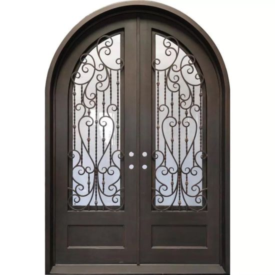 Hot Selling Wrought Iron Doors for Residential and Commercial Use