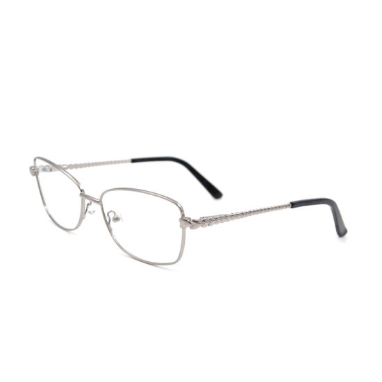 2019 Classic Metal Glasses Blue Light Blocking Glasses Eyewear Frame for Men and Women with Twisted Temple