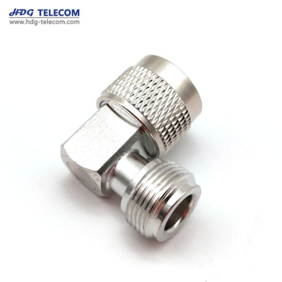 Metal N Male to N Female Right Angle Adapter Connector