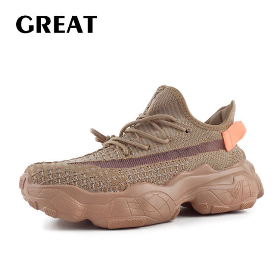 Greatshoe Fashion Flyknit Knitted Sport Shoes Man Sport Sneaker Running Shoes Male′s Footwear Casual Sneaker Men Sport Shoes Customize Shoes Design pictures & photos