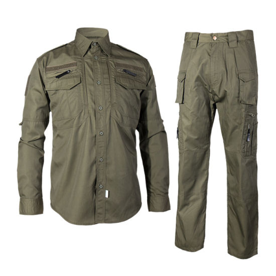 Black Eagle of Green Bdu Army Military and Camouflage Uniform, Army Military Clothing