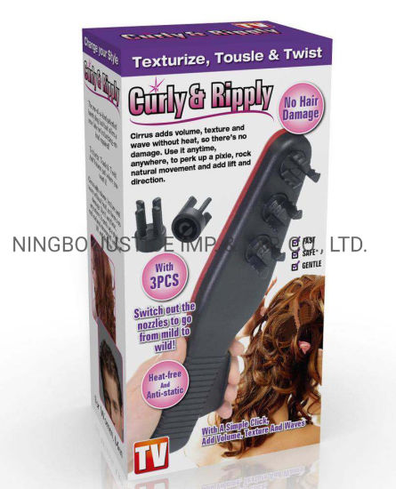 Hair Wave Modeling Function Comb (JGM0017) pictures & photos