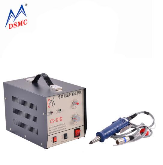 28kHz Ultrasonic Plastic Spot Welding and Cutting System Machine for Plastic Fabric PVC PP PE Nylon Tea