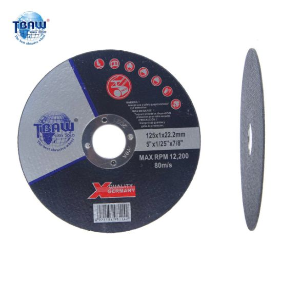 5inch Super Thin Abrasive Cutting Wheels Stainless Steels Cutting Disc, Grinding Wheel 125X1X22mm