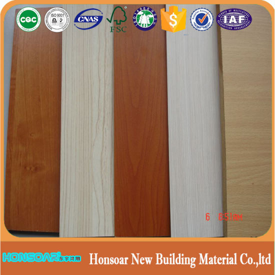 Melamine OSB Board Walnut Color Beech Color