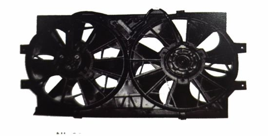Electronic Auto Condenser Fan for Auto Air-Conditioner Parts