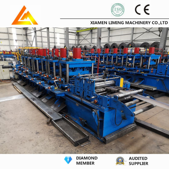 High Speed High Quality Construction Building Materials Row Metal Stud and Drywall Running Track Roll Forming Machine for C&U
