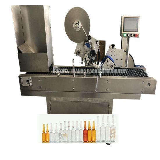 Automatic Horizontal Sticker Bottle Labeling Machinery Label Machine