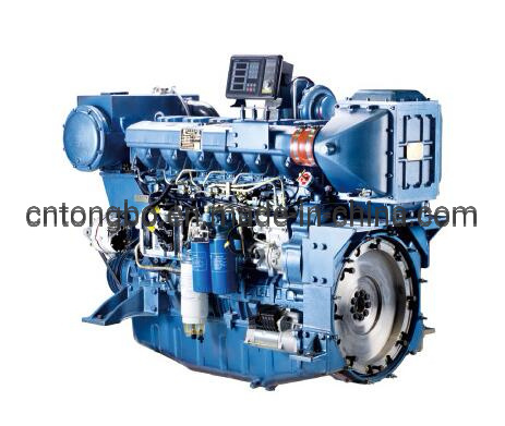 CCS Approved 350HP Weichai Marine Diesel Engine (WP12C350-15) pictures & photos