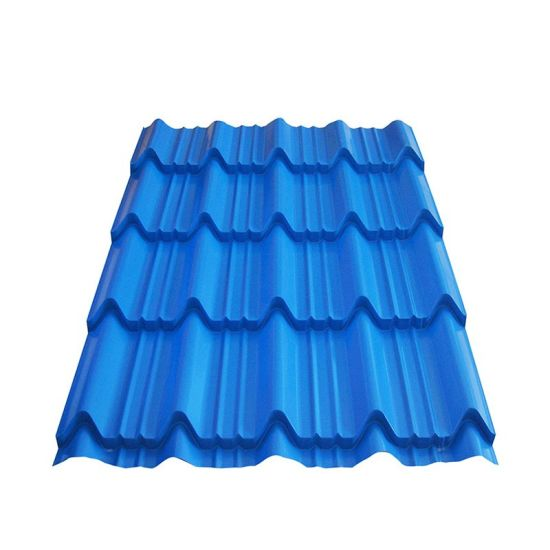 Roofing Materials Prepainted Color Coated Gi Corrugated Roofing Sheet
