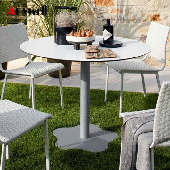 Amywell Furniture Waterproof Anti UV Compact Outdoor Table Tops