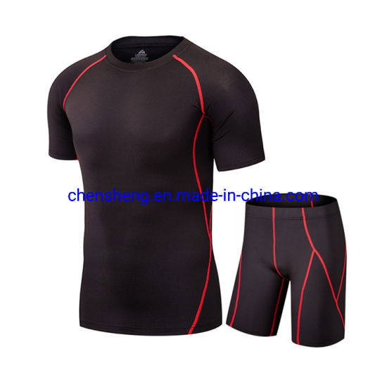 Gym Short Lightweight Sport Workout Fitness Training Gym Suit for Men Wear
