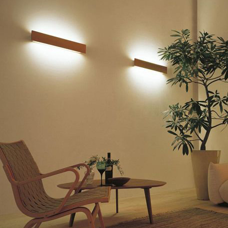 Indoor Decoration up and Down LED Linear Wall Light with Double Sides Lighting pictures & photos