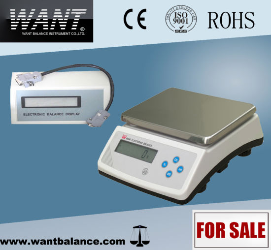 e7e3847d6e80 Weight Scale Digital with 2 LCD Displays 30 and 40 Kg