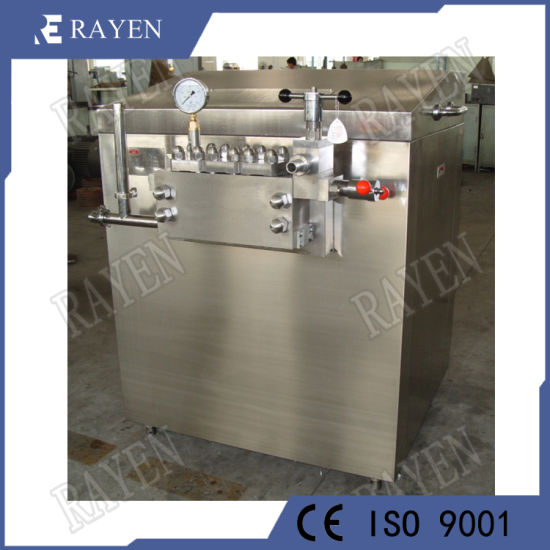 SUS316L or 304 Sanitary Stainless Steel Dairy Milk Juice Homogenizer pictures & photos