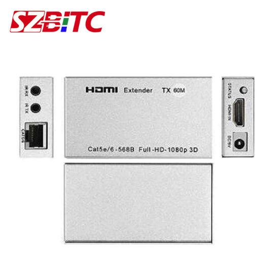 HDMI Extender Szbitc 4K HDMI Processor HDMI-Cat5e/CAT6-HDMI 60m Extension