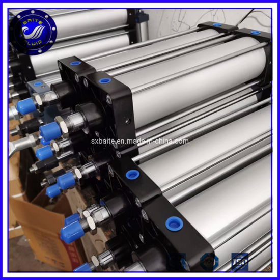 125mm Bore Stroke 1000mm Pneumatic Piston Cylinder