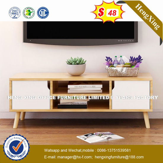 Merveilleux Modern Design Wooden Patio Colorful Lighting LED TV Stand (Hx 8nr0988)