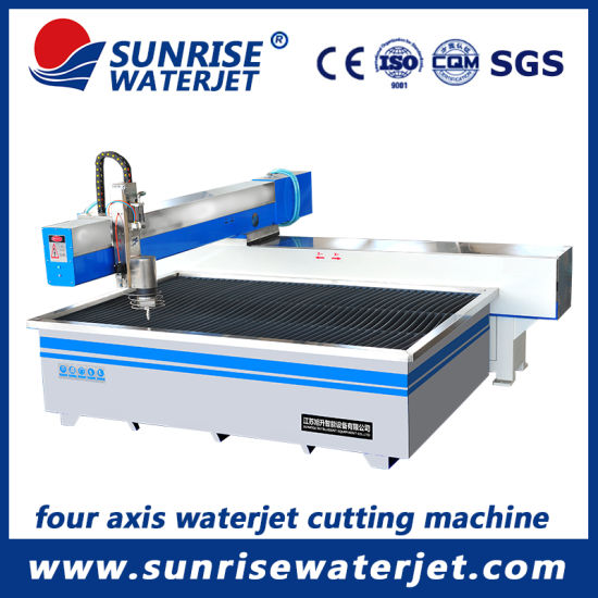 4-Axis Abrasive Water Jet Tile CNC Cutting Machine