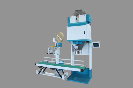 Semi Auto 50kg Bag Sugar Salt Weighing Filling Packing Machine