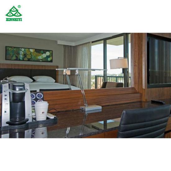 Exceptionnel High End 5 Star Hotel Furniture Bedroom Sets, Hospitality Case Goods Oak /  Walnut Wood