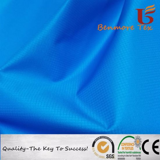 Waterproof / Printing 0.15 Ripstop DTY Nylon Fabric for Outdoor Garments