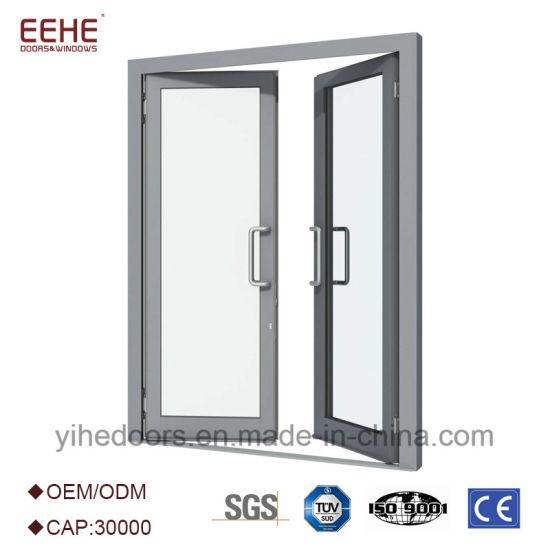 Aluminum Commercial Comfort Room Double Swing Door Design  sc 1 st  Guangdong EHE Doors u0026 Windows Industry Co. Ltd. & China Aluminum Commercial Comfort Room Double Swing Door Design ...