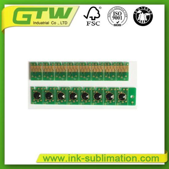 C M Y Bk Compatible Cartridge Ink Chips for Epson Sublimation Printer