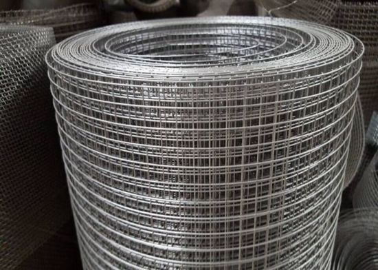 """1 / 2"""" Galvanized Welded Wire Mesh Roof Safety Mesh for Agriculture or Bird Cage Aviary Weld Mesh for Protection Construction"""