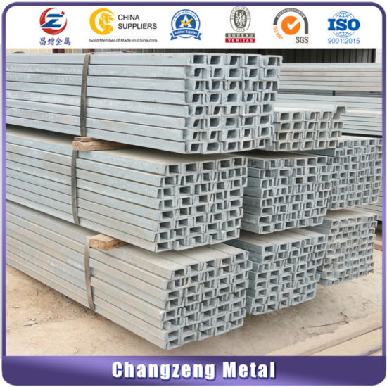 160*65*6mm Channel Steel Bar for Construction (CZ-C59)