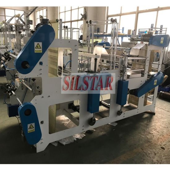 Double Lines on Roll T-Shirt & Flat Bag Making Machine pictures & photos
