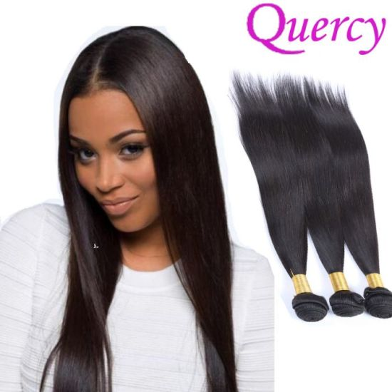 Top Quality Virgin Straight Human Hair 100 Unprocessed Extensions