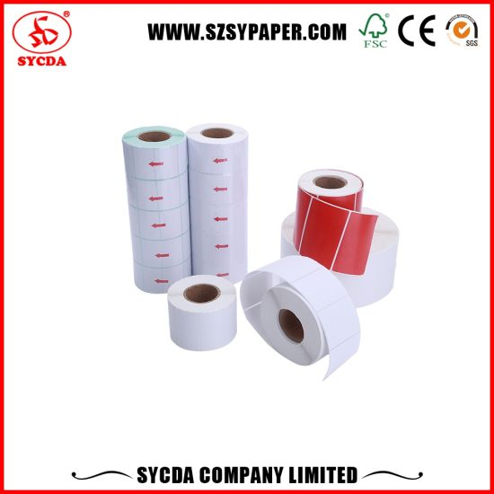 Good Quality Adhesive Thermal Label Paper Sticker pictures & photos