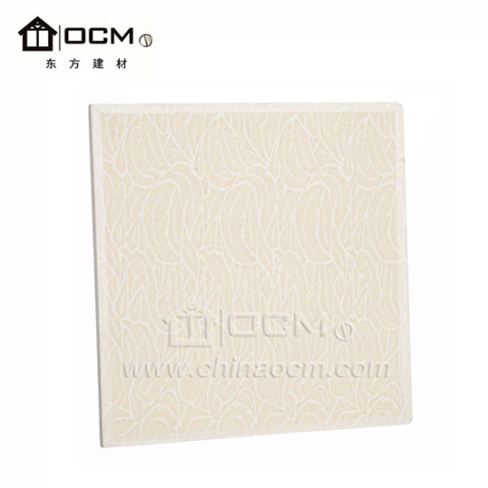 Acoustic MGO Board Sound Absorbing Ceiling Panel